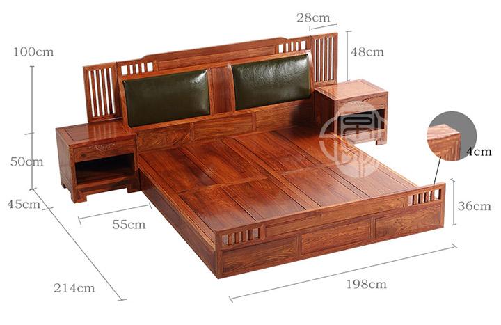 床的结构图解
